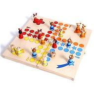 Drevené hry – Človeče nehnevaj sa, zvieratká - Spoločenská hra