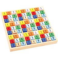 Didaktická hračka Farebné drevené sudoku