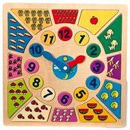 Vkladačka Vkladacie výučbové puzzle - Nauč sa hodiny