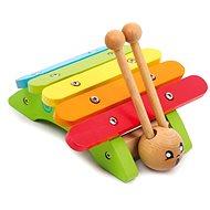 Detské hudobné nástroje – Xylofón slimák - Hudobná hračka
