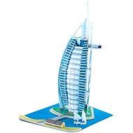 Trojvrstvové penové 3D puzzle - Burj Al Arab - Puzzle
