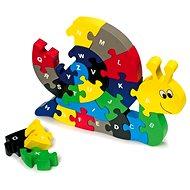 Vkladacie puzzle – Slimák - Vkladačka