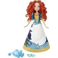 Disney Princess – Bábika Merida s vyfarbovacou sukňou - Bábika