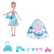 Disney Princess – Bábika Popoluška s náhradnými šatami - Bábika