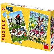 Dino Krtko sa raduje - Puzzle