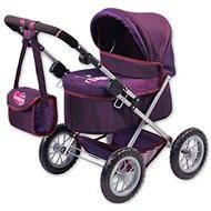 Kočík Trendy fialový - Kočík pre bábiky