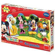 Disney Mickeyho klubík - Puzzle