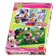 Dino Kamarátka Minnie - Puzzle