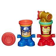 Play-Doh – Poháriky v tvare hrdinov Marvel - Kreatívna súprava