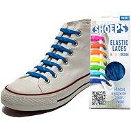 Shoeps – Silikónové šnúrky XL námornícka modrá - Súprava šnúrok