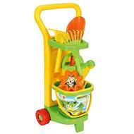Wader – Vozík záhradníka s doplnkami - Súprava na piesok