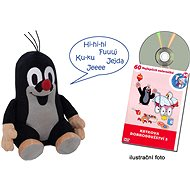 Krtko a jeho kamaráti – Hovoriaci Krtko a DVD - Plyšová hračka