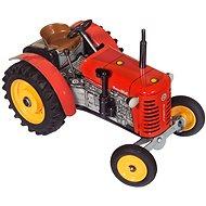 Kovap Traktor na kľúčik červený - Kovový model