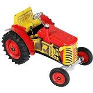 Kovap Traktor Zetor na kľúčik červený - Kovový model