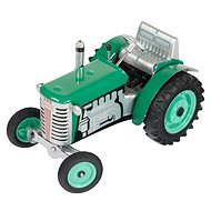 Kovap Traktor na kľúčik zelený - Kovový model