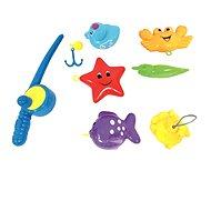 Bino súprava hračiek do vane s prútom - Hračka do vody
