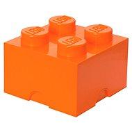 LEGO Úložný box 4 250 x 250 x 180 mm - oranžový - Úložný box
