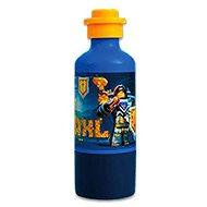 LEGO Nexo Knights Fľaša na pitie - modrá - Fľaša na vodu