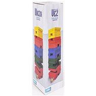 Veža veľká farebná s kockou - Párty hra