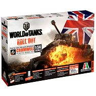 Italeri World of Tanks 56504 – Cromwell - Plastový model
