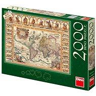 Historická mapa sveta - Puzzle