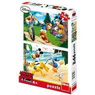 Dino Mickey Mouse športuje - Puzzle
