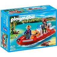 Playmobil 5559 Nafukovací čln s pytliakmi - Stavebnica