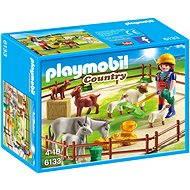 Playmobil 6133 Zvieratá na pastvine - Stavebnica