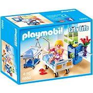 Playmobil 6660 Nemocničná izba s detskou postieľkou - Stavebnica
