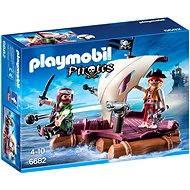 Playmobil 6682 Pirátska plť - Stavebnica