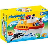 Playmobil 1.2.3 6957 Moja prvá prenosná loď - Stavebnica