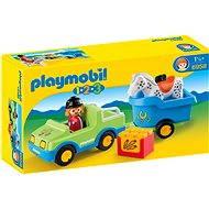 Playmobil 6958 Auto s konským prívesom - Stavebnica