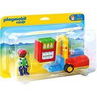 Playmobil 1.2.3 6959 Vysokozdvižný vozík - Stavebnica