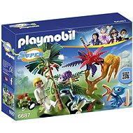 Playmobil 6687 Stratený ostrov s Alienom a Raptorom - Stavebnica