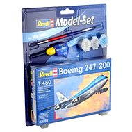 Revell Model Set 03999 letadlo – Boeing 747-200 - Plastikový model