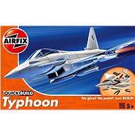 AirFix Quick Build J6002 lietadlo – Eurofighter Typhoon - Plastový model