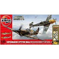AirFix Gift Set A50135 Lietadlo – Supermarine Spitfire MkIa vs Messerschmitt Bf109E-4 - Plastový model