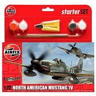 AirFix Starter Set A55107 lietadlo – North American Mustang IV - Plastový model