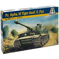 Italeri Model Kit 0286 tank - Pz. Kpfw. VI Tiger Ausf. E (Tp) - Plastový model