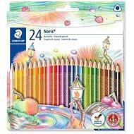 "Farebné pastelky ""Noris Club"", kolekcia 24 farieb - Pastelky"