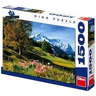 Dino Bavorské Alpy - Puzzle