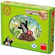 Drevené kocky Kubus – Krtko a priatelia - Obrázkové kocky