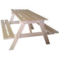 Cubs – Detský drevený piknik stolík veľký - Príslušenstvo na detské ihrisko