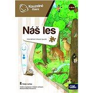 Kúzelné čítanie – Puzzle Náš les - Vzdelávacia hra