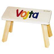 Farebná stolička CUBS Vojta - Detský nábytok