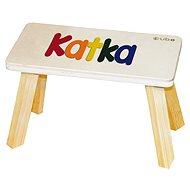 Farebná stolička CUBS Katka - Nábytok