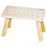 Prírodná stolička CUBS Barborka - Nábytok