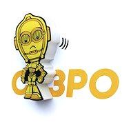 3D Mini svetlo Star Wars C-3PO - Osvetlenie do detskej izby