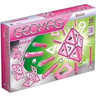 Geomag - Kids Pink 68 dielikov - Magnetická stavebnica