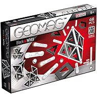 Geomag – Panels black/white 68 dielikov - Magnetická stavebnica
